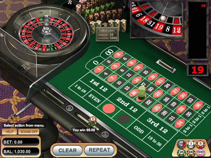 roulette-americaine-betsoft